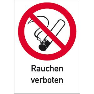 rauchen verboten mit symbol kennzeichnen waschraumhygiene reinigen. Black Bedroom Furniture Sets. Home Design Ideas